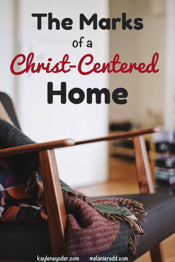 Building a Christ-centered home is an ultimate goal for many. But, how can we build one? And, what are the marks of a Christ-centered home? #Christcentered #home #buildhome