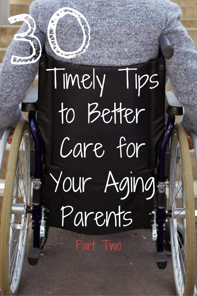 As your parents begin to grow older, how can you take care of them? Here is an article filled with inspirational support, tips, and suggestions for how to be a better caregiver to your aging parents