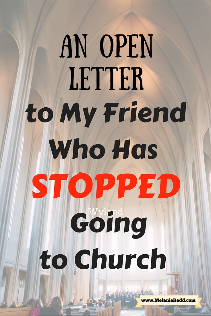 I'm writing to let you know that we've missed YOU in our church community! We really have! And, I invite you to church (or back to church)! Won't you consider coming to church or coming again to church? Find out more about why it matters. #church #backtochurch #attendchurch