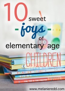 Are you parenting children between kindergarten and 5th grade? Learn some great ideas and tips about how you can love this sweet season between teething and middle school.