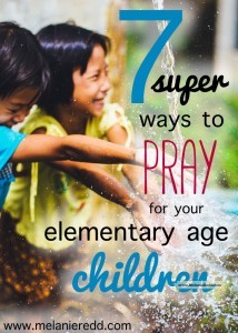 Prayer is important for parents. However, sometimes we don't know how to pray or what we should pray. Here is an article that gives you some very practical prayer ideas and scriptures to pray for your children. (FREE Printables included!)