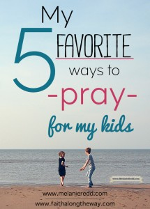 Are you looking for some practical ideas that will help you in praying for your kids? Here are 5 of our favorite scriptures to pray along with a FREE printable.