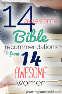 Would you like some awesome suggestions of Bible translations, types, and formats? Here are 14 Bible ideas from real people for real people. Read their stories and be encouraged and inspired by their Bible reviews and highlights.