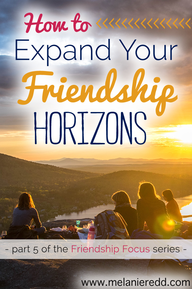 We need friendship, conversation, laughter, meaningful dialogue, sounding boards, workout buddies, accountability partners, and friends. God created us to enjoy time with other people. Here are some simple suggestions for how you can expand your friendship horizons and make more friends!