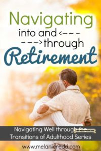 Retirement is a season that ALL of us will one day enter. For some, it is a blessing; for others, it is a challenge. As you are planning for retirement, what are some things you can do to get ready? Is there some advice and some suggestions that can help? Here is an article filled with words of wisdom and hope about retirement. Why not stop by and find a little word of encouragement today?