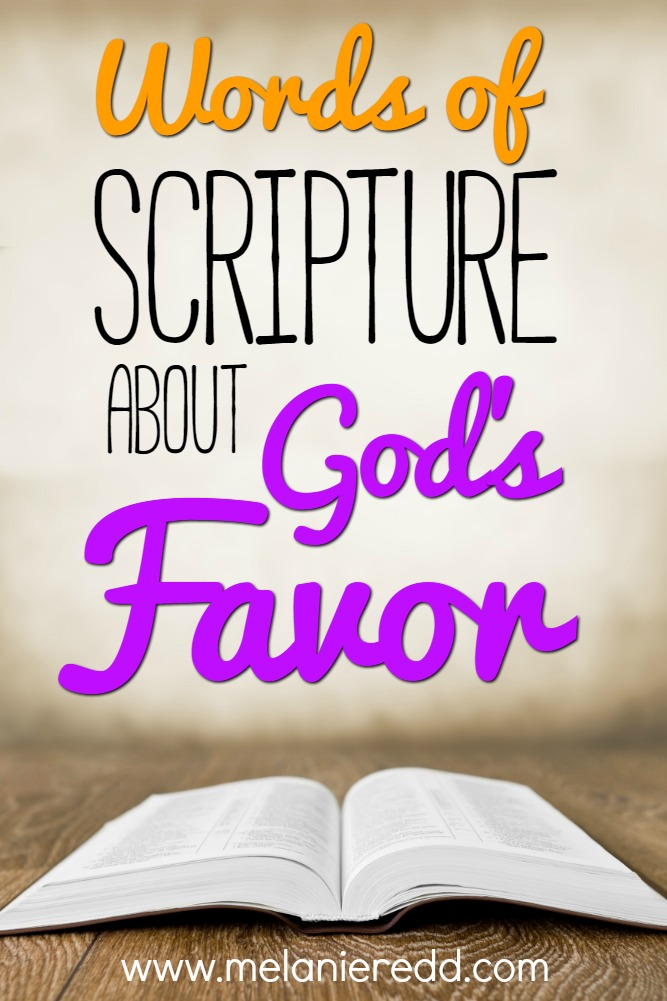 The Bible talks much about the favor of God. In fact, there are hundreds of scriptures that mention God's goodness and His favor. Today's blog post takes a look at some beautiful verses we can start praying now to ask for more of God's favor on our lives & on the lives of our friends and family members. Why not drop by to discover more? www.melanieredd.com.