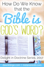 How Do We Know that the Bible really is God's Word?