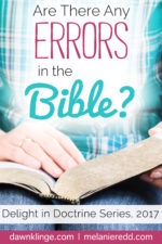 Are There Any Errors in the Bible?