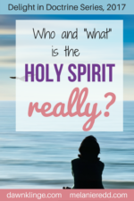 "Who and ""what"" is the Holy Spirit really?"