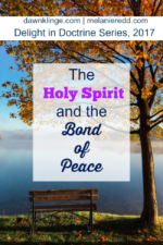 The Holy Spirit and the Bond of Peace
