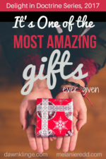 It's one of the most amazing gifts ever given