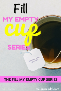 Fill My Empty Cup Series Page - Practical Steps for All Believers. #empty #fill #hope