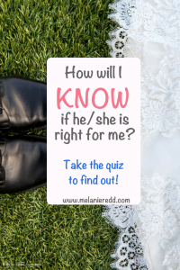 How will I know that he/she is the right one for me? Catch the Series! #marriage #relationships #dating