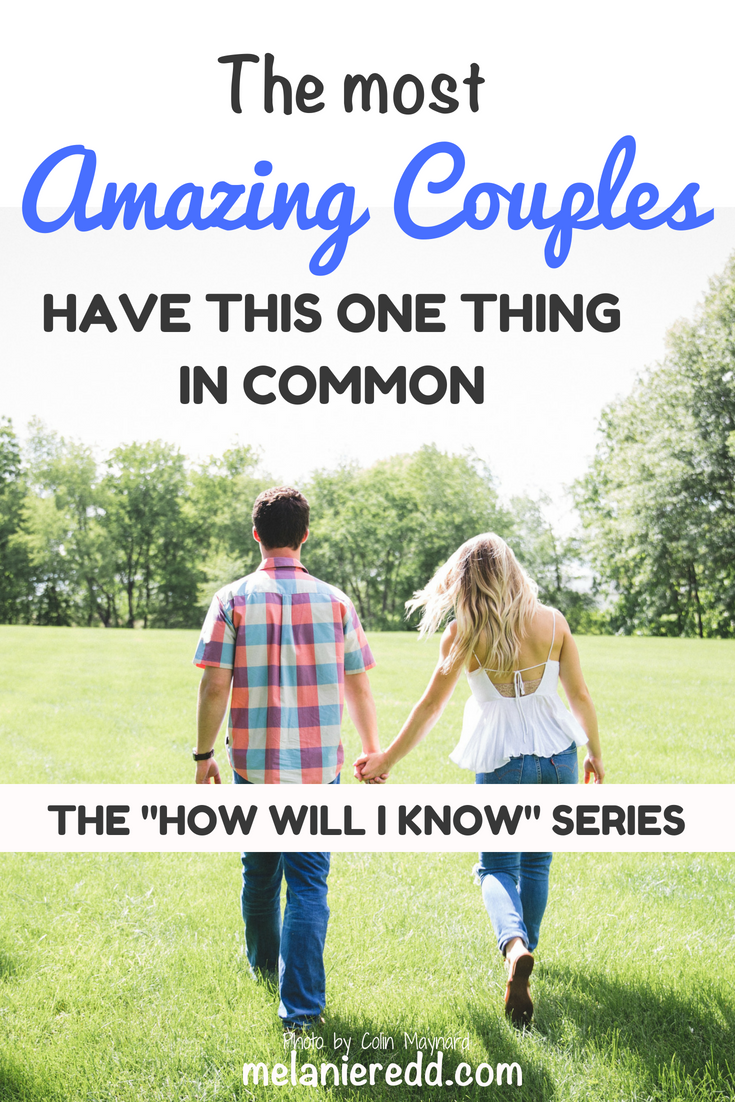Those who make their relationship work, last over time and enjoy each other most do this one thing and pursue this one thing. This one quality is timeless, it is reliable, it is dependable, and it is true. The most amazing couples have this one thing in common. Discover what it is today. #commonground #marriage #relationships #hope