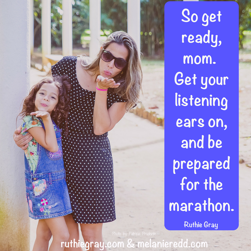 Would you like to raise girls who'll grow up talking to you? Here are some practical ways to to encourage your daughter to confide in you - her whole life. #daughters #raisinggirls #raisingdaughters #parenting