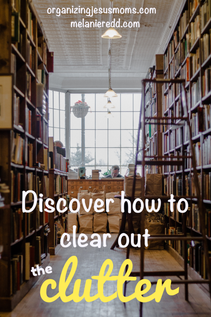 Do you ever feel like clutter is taking over your world? Stealing your joy? Discover how to begin to clear out the clutter in your life in today's post. #clutter #organization #organized