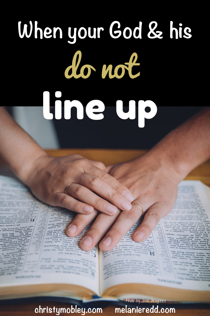 When Your God and His Don't Line Up #unequallyyoked #marriage #relationships