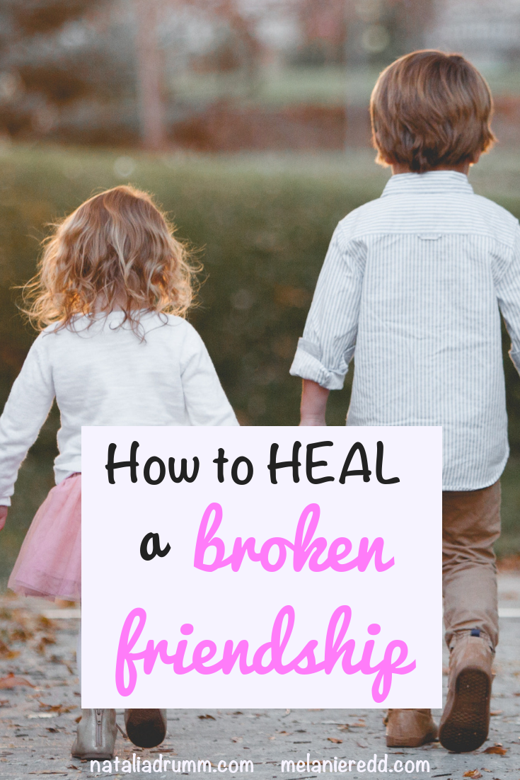 Friendships are precious, sweet, and life-giving. However, sometimes things get messy and complicated. Find out how to heal a broken friendship. #friendships #brokenfriendship #healing