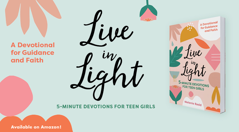 "Live In Light is every girl's guide to tackling their teenage years with the wisdom and comfort of the Bible. From navigating the pressure to be ""perfect"" on social media to dating and dealing with frenemies, these 5-minute devotionals help you to become the woman that both you and God want you to be. #teengirls #teendevotions #liveinlight #lighttheway"